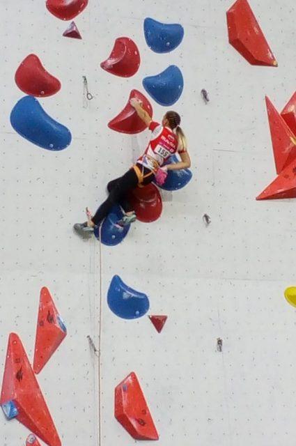 Елена Матяк-Яблучкина на первенстве Европы-2019 по скалолазанию_2-min