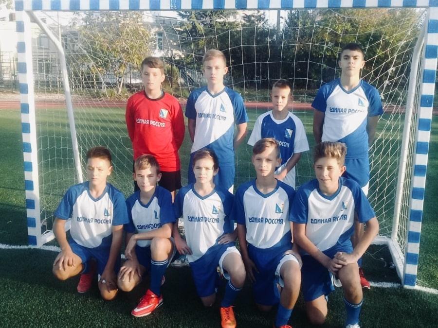 Севастопольская футбольная команда Победа