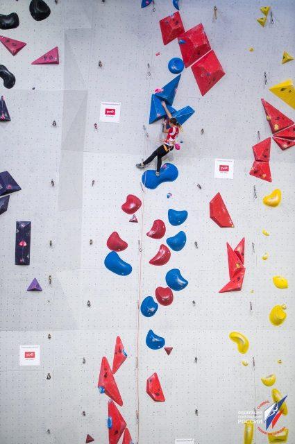 Выступление Елены Матяк-Яблучкиной в финале первенства Европы-2019 по скалолазанию_2-min