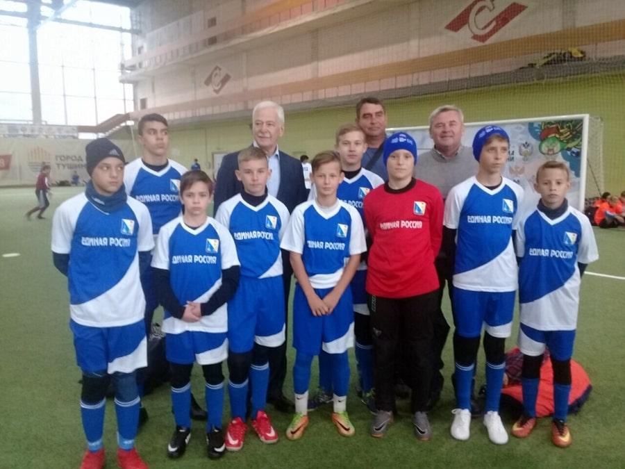 Футбольная команда Победа в Москве - ноябрь 2019
