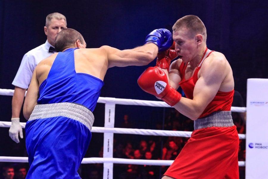 Максим Коптяков в финальном бое чемпионата России по боксу_3