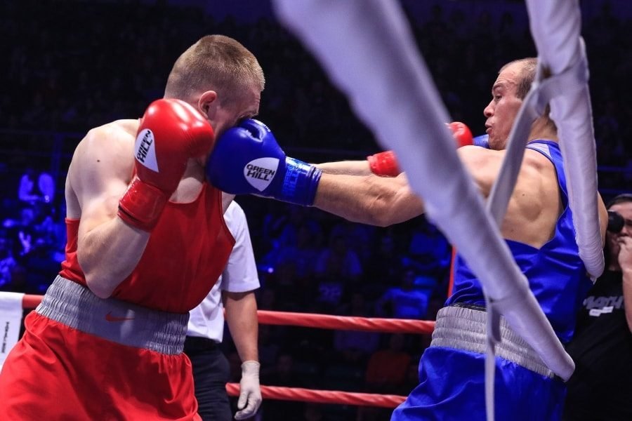 Максим Коптяков в финальном бое чемпионата России по боксу_5