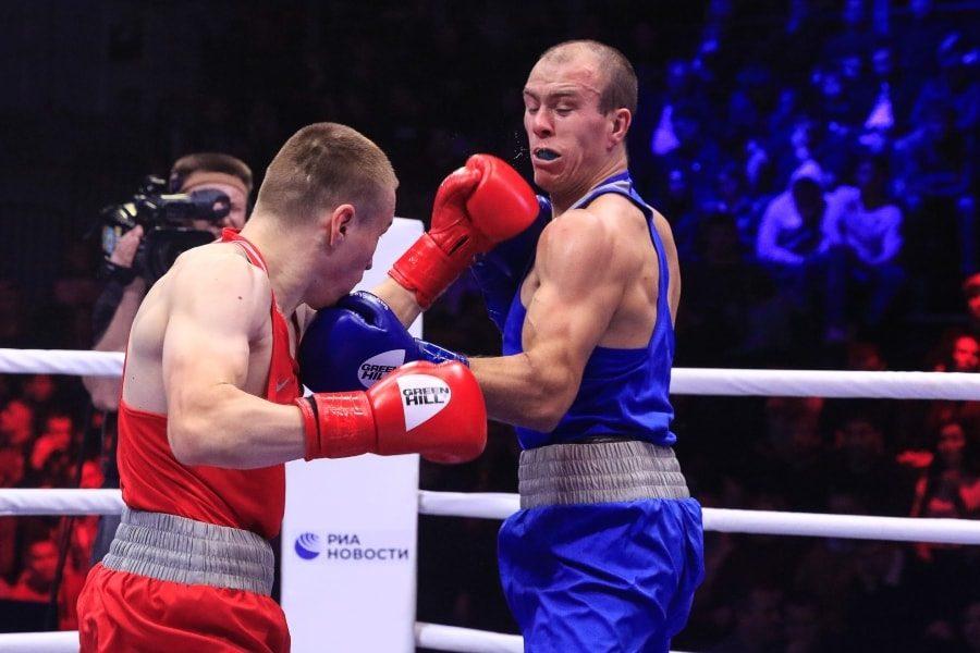 Максим Коптяков в финальном бое чемпионата России по боксу_6