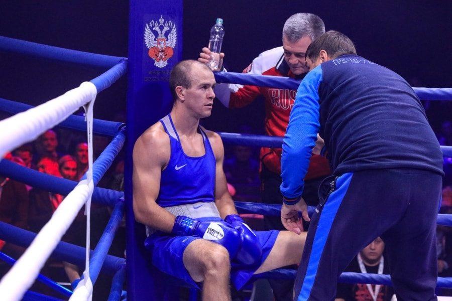 Максим Коптяков в финальном бое чемпионата России по боксу_7