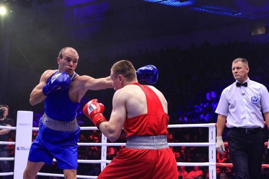 Максим Коптяков в финальном бое чемпионата России по боксу_8