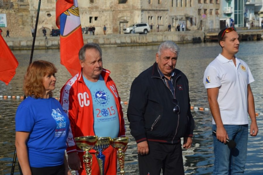 Первенство Севастополя по зимнему плаванию 2019 _ Павел Липко_
