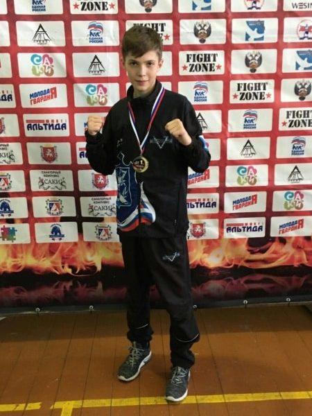 Победитель турнира Сева Авдеев