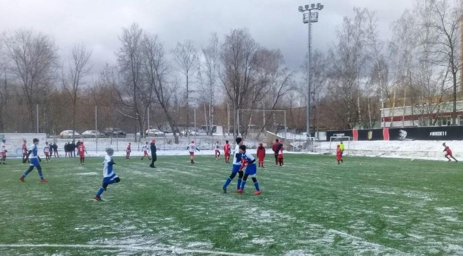 Севастопольская футбольная команда Победа в Москве - ноябрь 2019 года