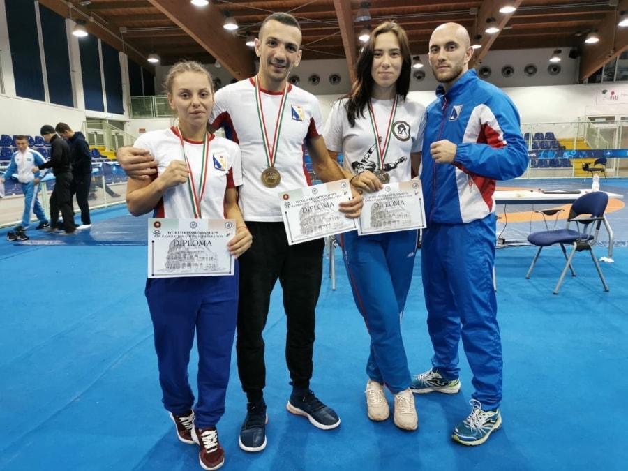 Светлана Радван и Дарья Крапивина завоевали серебро чемпионата мира по панкратиону
