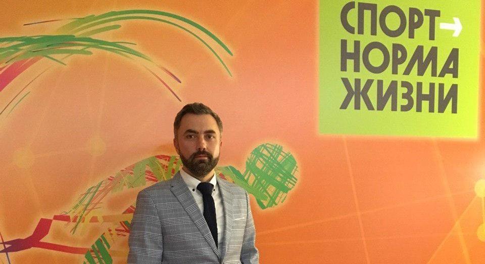 Дмитрий Карпов на премии Спортсмен года 2019