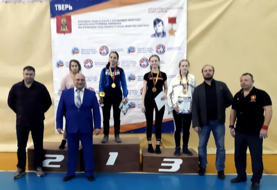 Екатерина Нагорная - победитель всеророссийских соревнованиях по спортивной борьбе 2019