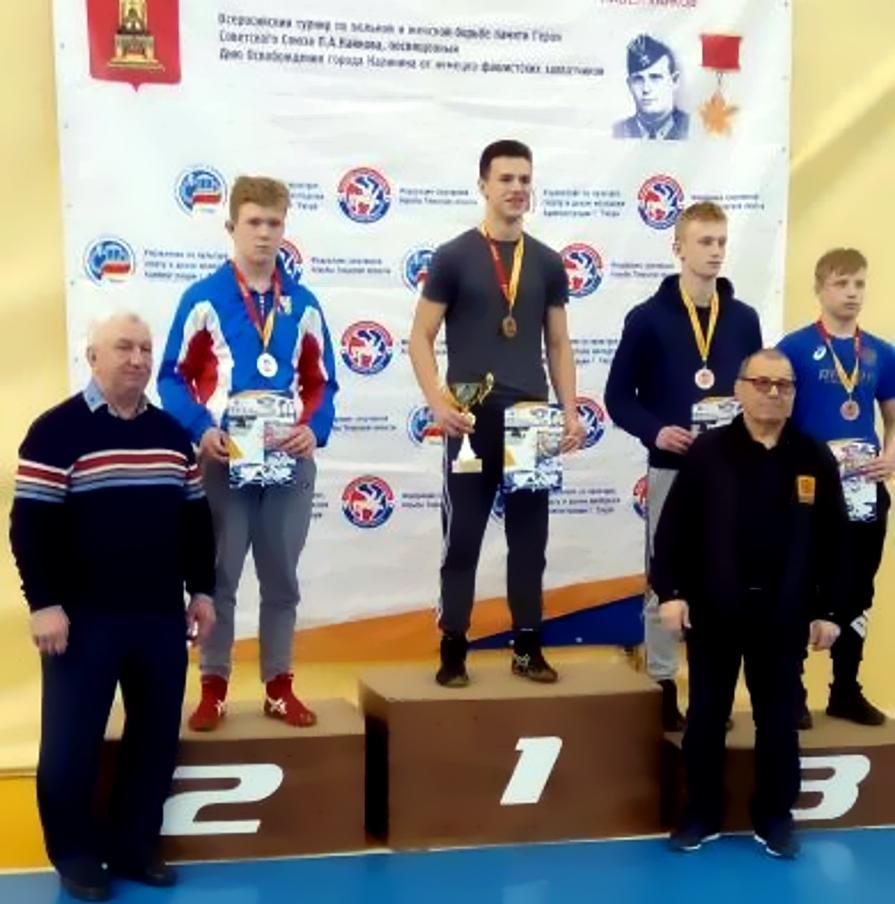 Геннадий Юрьев - призёр всеророссийских соревнований по спортивной борьбе среди 2019