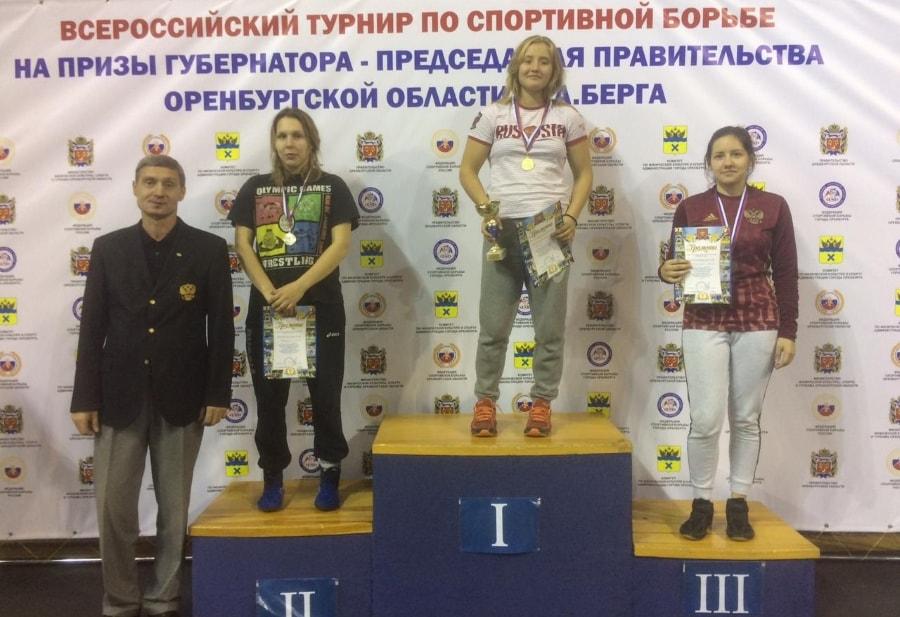 Кристина Михнева - победительница всероссийского турнира по спортивной борьбе