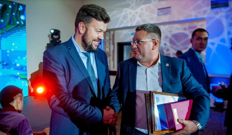 Сергей Резниченко на премии Спортсмен года 2019