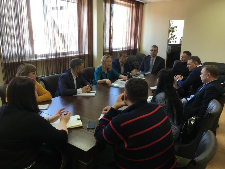 Обсуждение по развитию футбола в Севастополе февраль 2020