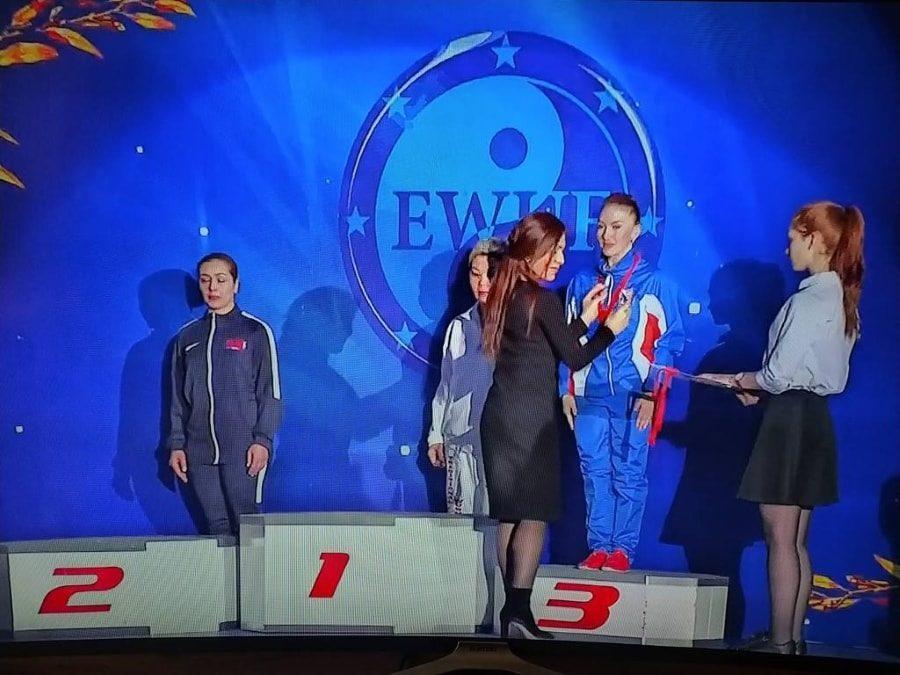 Дарья Дернова взяла бронзу Международного турнира Московские звёзды ушу 2020