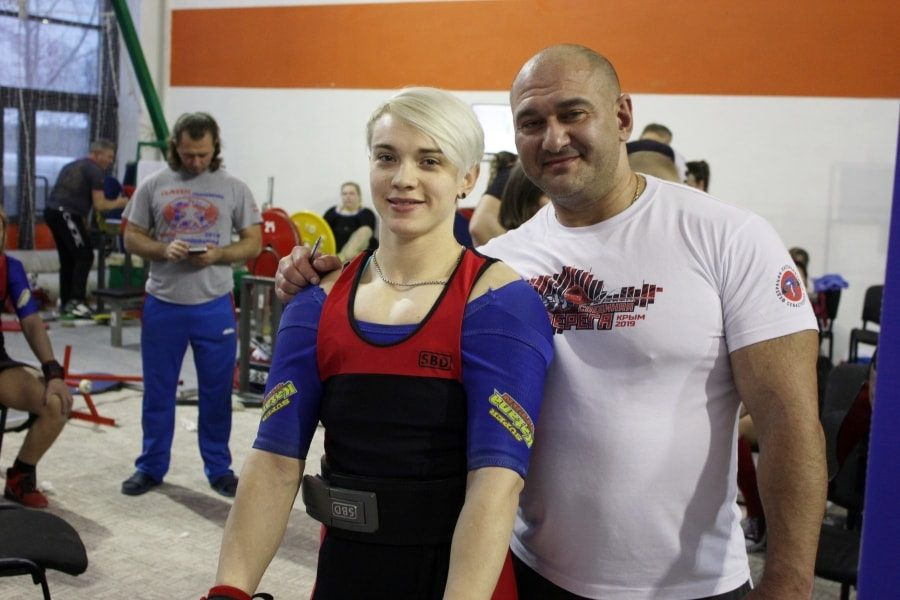 Екатерина Прокопова и Михаил Паллер