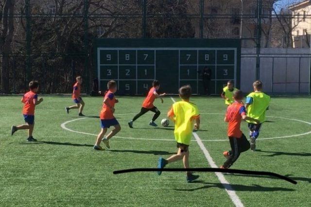 Кожаный мяч 2020 в Севастополе _1