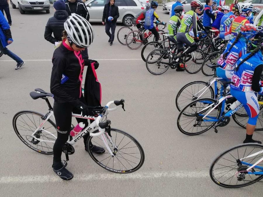 Оксана Колодюк на вероссийских соревнованиях по велосипедному спорту (шоссе) 2020