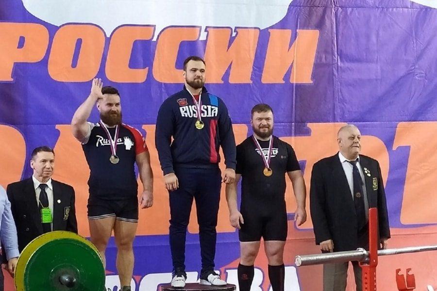 Валентин Киселёв стал бронзовым призёром чемпионата России по жиму в экипировке 2020