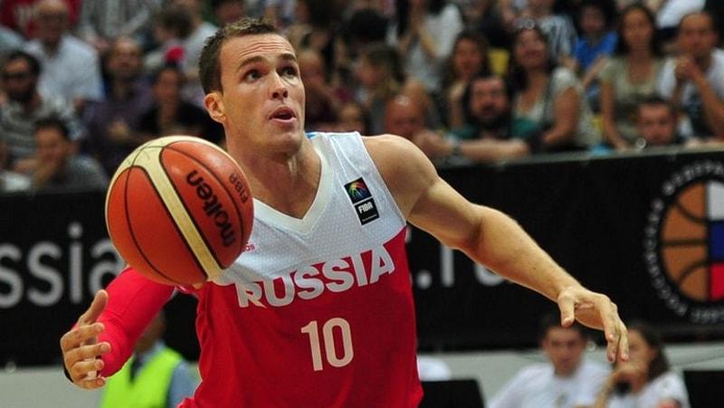 Баскетболист Сергей Быков