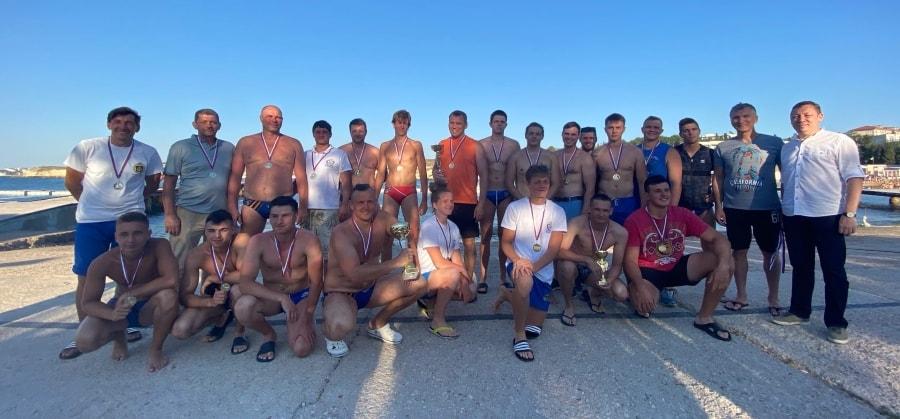 Победители взрослого турнира по водному поло Кубок адмирала 2020