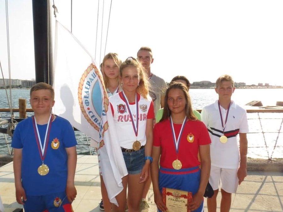 Призёры чемпионата ЮФО 2020 по парусному спорту в Севастополе _2