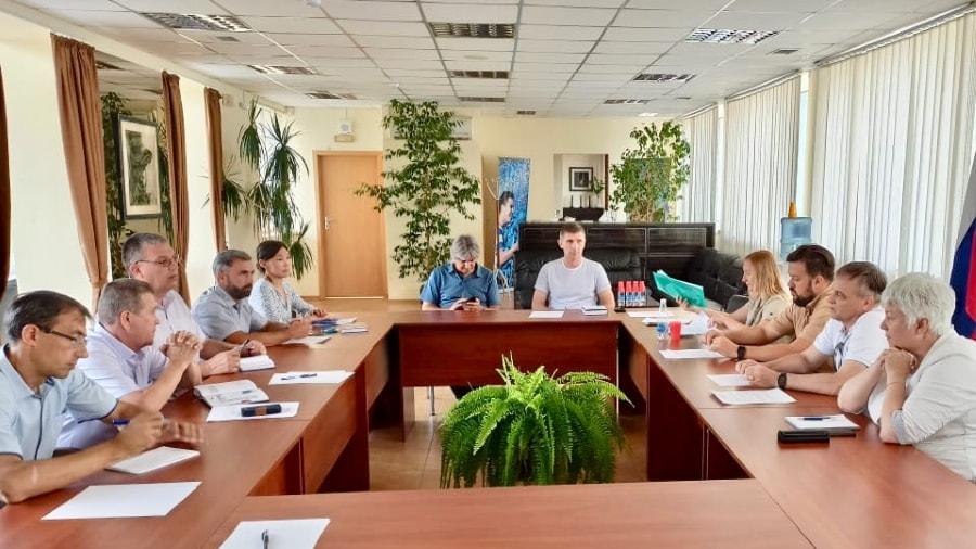 Рабочее совещание по вопросам развития футбола в Севастополе