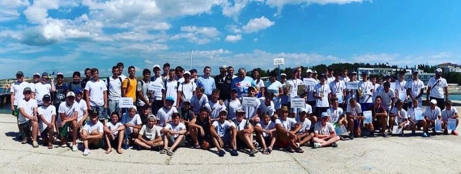 Участники юношеского турнира по водному поло Кубок адмирала 2020