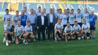 ФК Севастополь провел открытую тренировку для детей