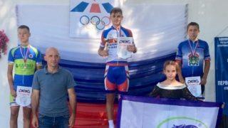 Никита Конопатский (Севастополь) стал чемпионом первенства Крыма по велоспорту