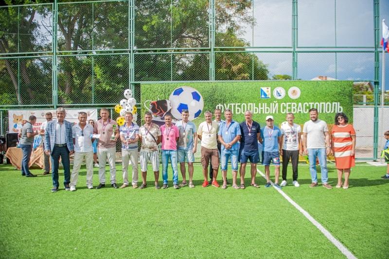 Команда «Штаб ЧФ», 2 место в категории мужчины 35-45 лет