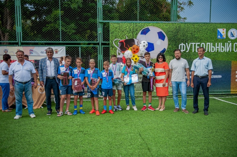 Команда СК «Альтаир», 3 место в возрастной группе 14-15 лет