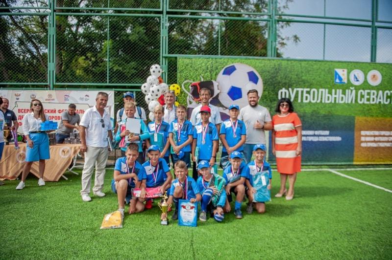 Команда СК «Равелин», 3 место в возрастной группе 10-11 лет