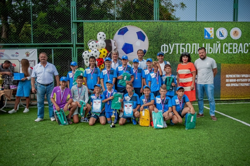 Команда СК «Равелин», 3 место в возрастной группе 12-13 лет