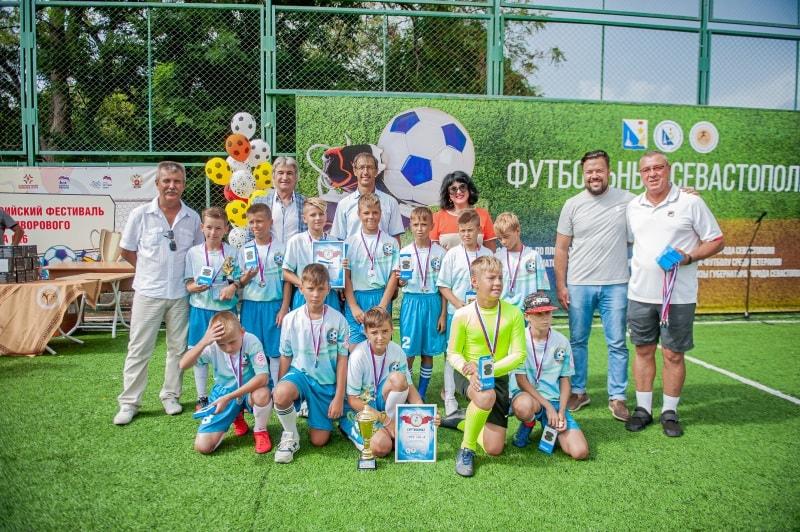 Команда СШ № 3, 2 место в возрастной группе 10-11 лет