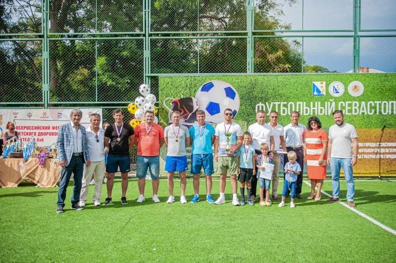 Команда «Спартак», 1 место в категории мужчины 35-45 лет