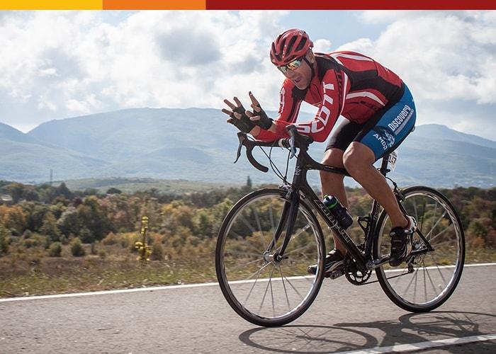 Крымская осень 2020 старт одиночной велогонки