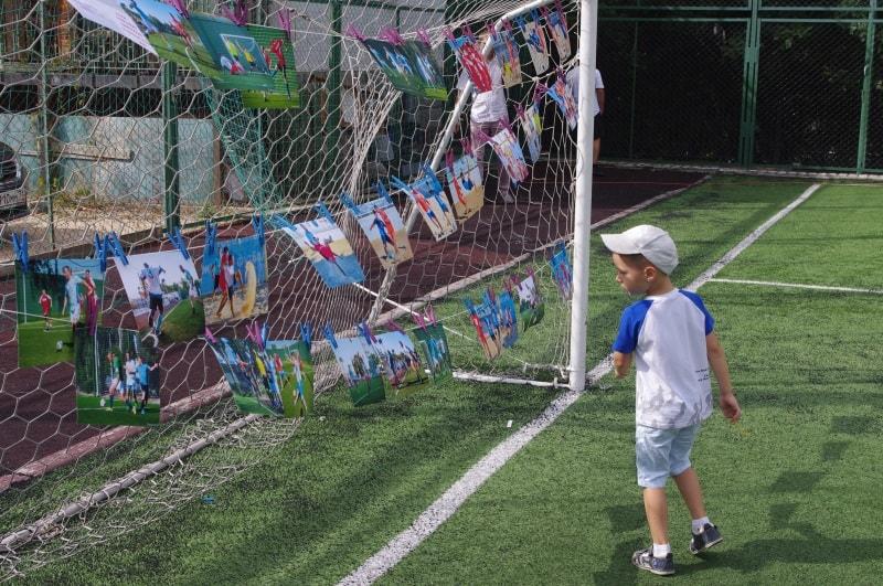 На награждении победителей футбольных турниров 2020 в Севастополе