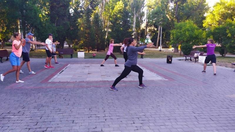 Общегородские зарядки 2020 в Севастополе продолжаются