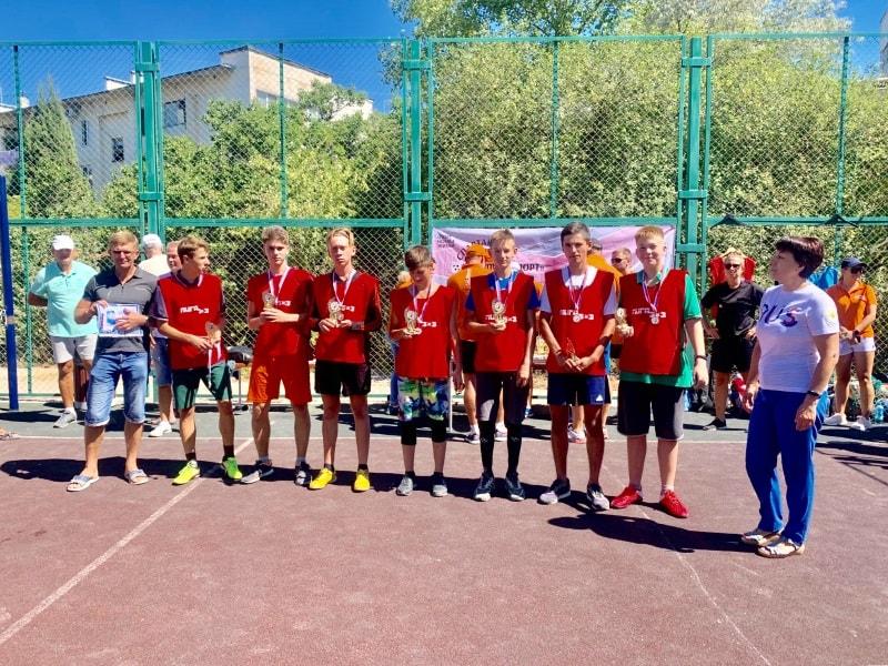 Победители 1 этапа Спартакиады среди дворовых команд Севастополя 2020