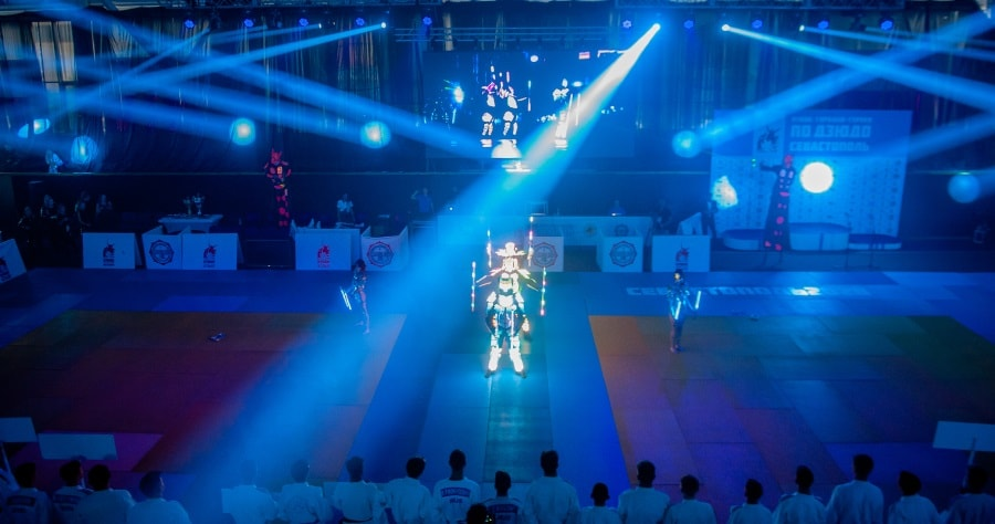 Церемония открытия турнира Кубок городов-героев 2020