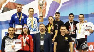 Команда Севастополя на чемпионате России по панкратиону 2020