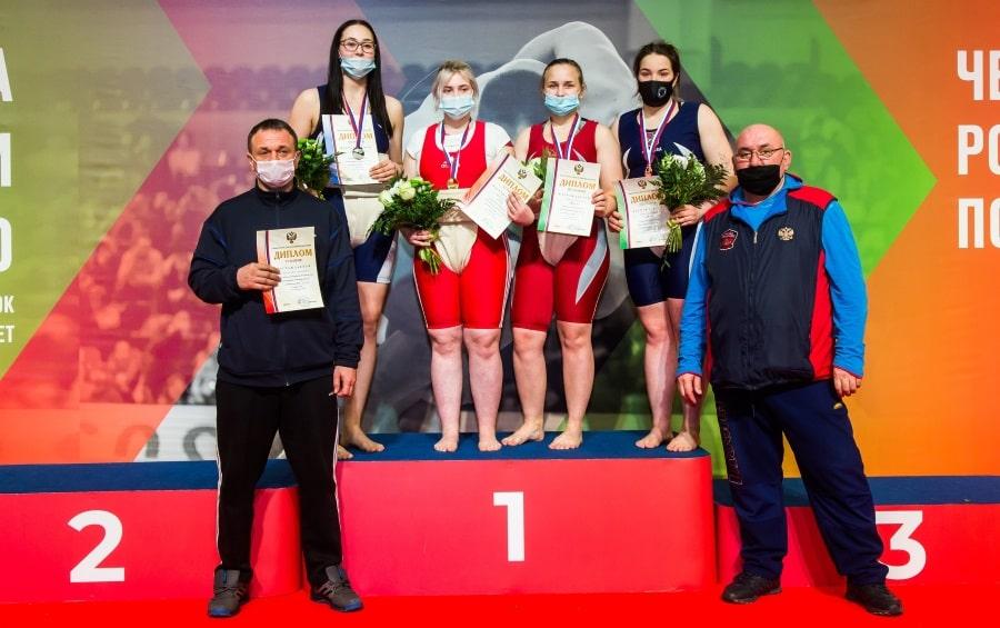 Татьяна Молчанова заняла 3 место на ПР по сумо 2021 года