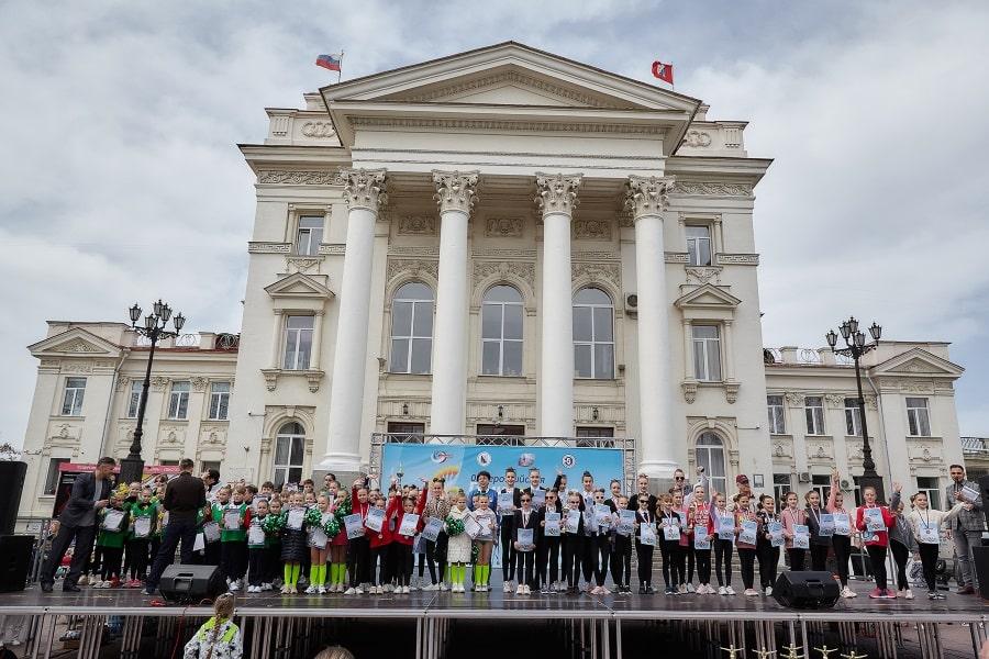 Участники марафона Гимнастрада 2021 в Севастополе