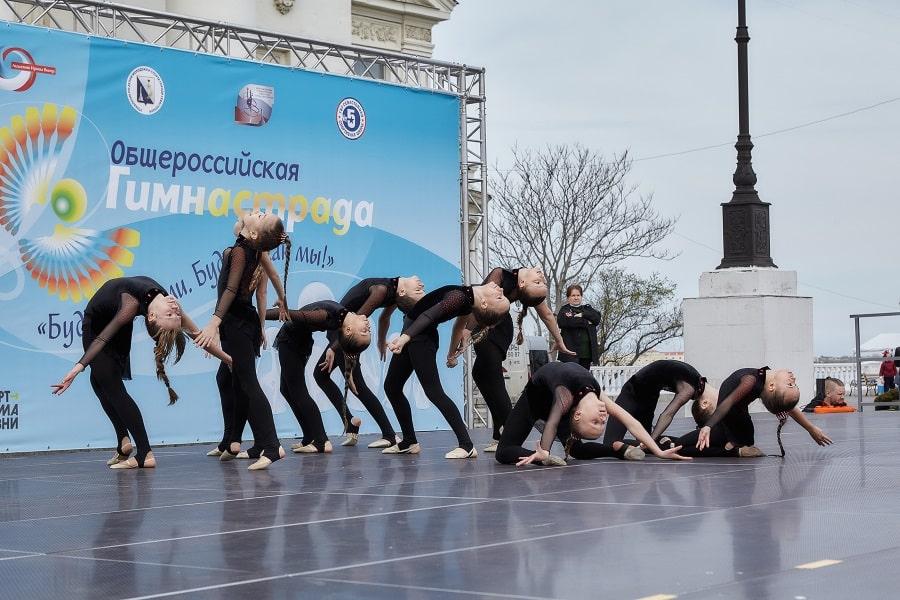 Выступление на марафоне Гимнастрада 2021 в Севастополе_1