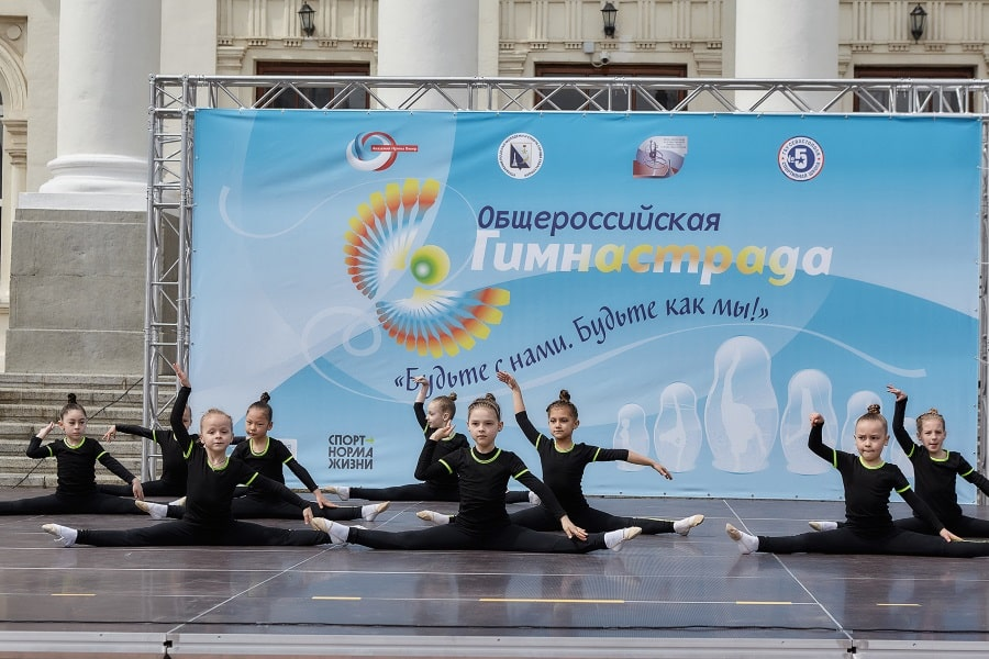 Выступление на марафоне Гимнастрада 2021 в Севастополе_5