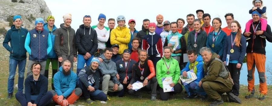 Участники 3 этапа Кубка России по альпинизму 2021